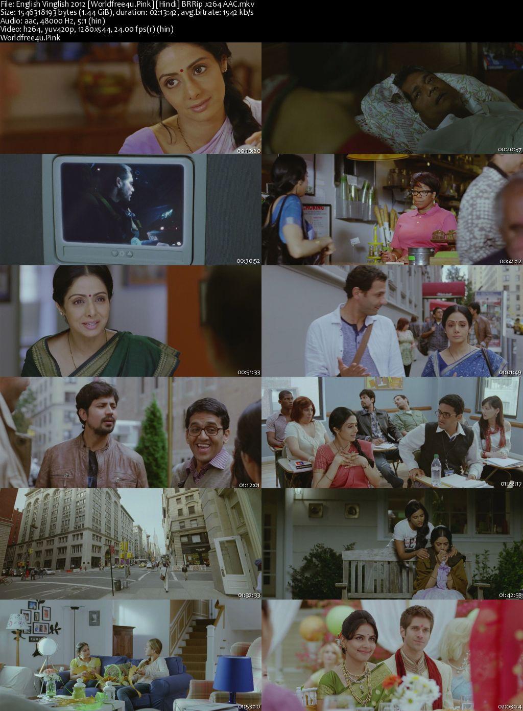 English Vinglish 2012 Hindi BRRip 720p