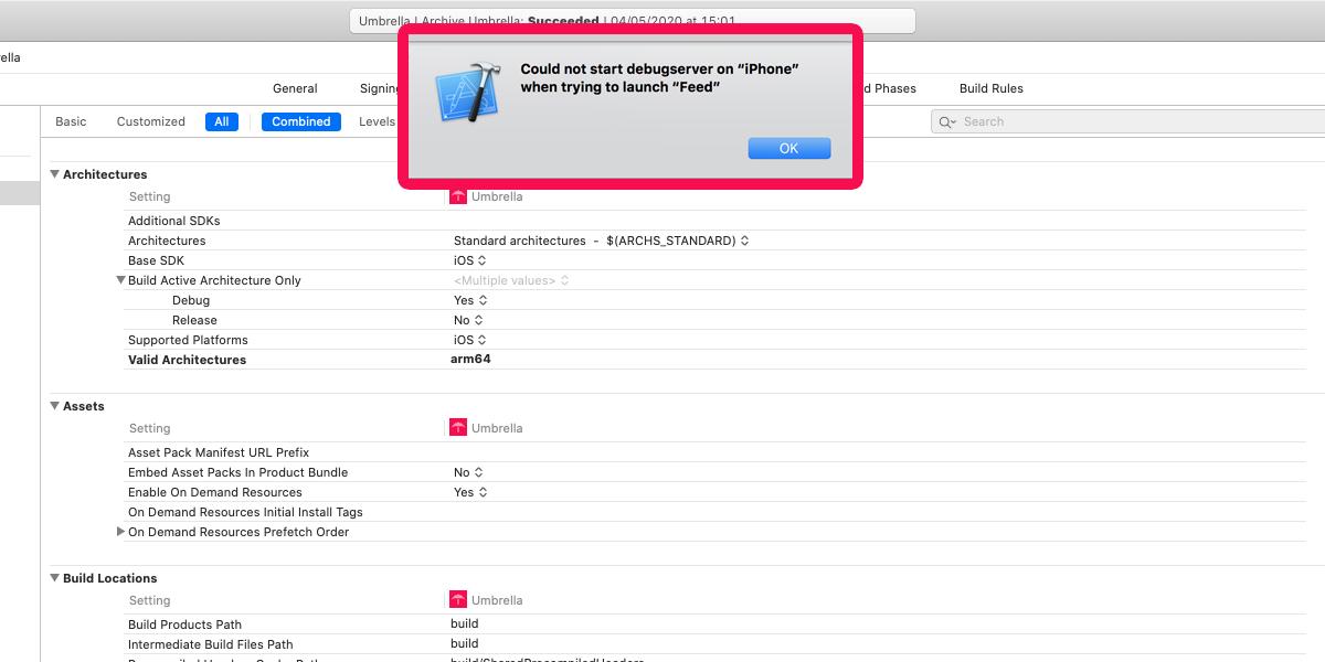 Cosa fare se non riuscite ad installare un'app con Xcode