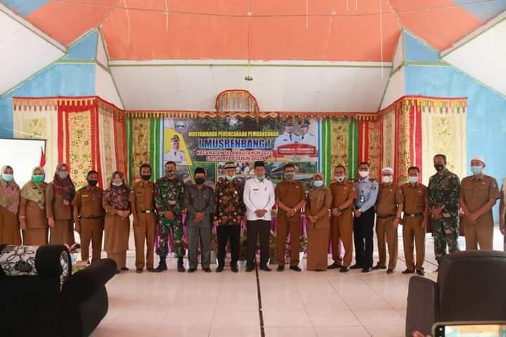 Buka Musrenbang RKPD Kecamatan Talamau, Risnawanto : Camat dan OPD Verifikasi Usulan Yang Masuk