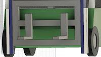 Extrude Forklift Load Backrest