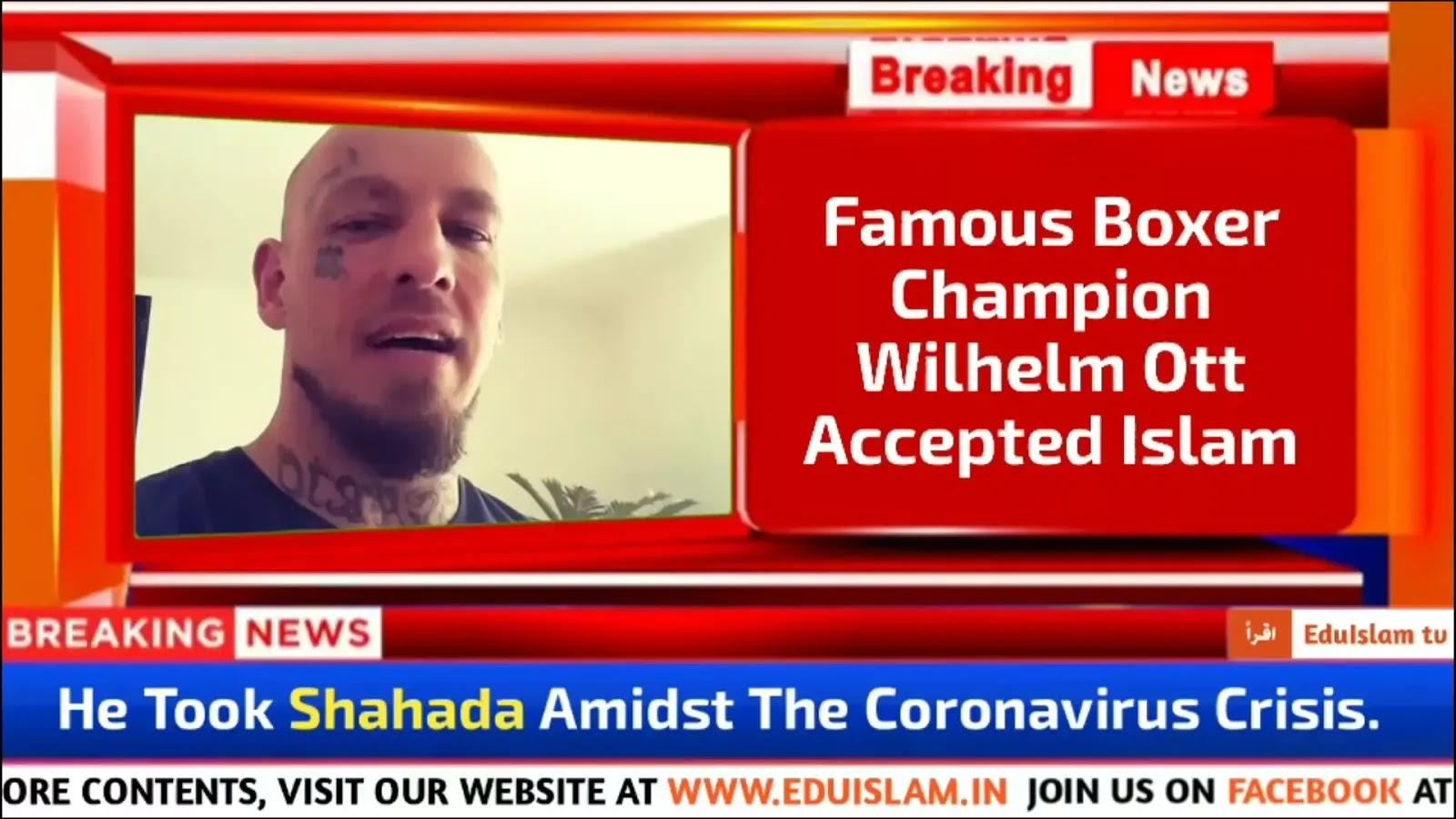 Austrian Boxer Wilhelm Ott Converted To Islam