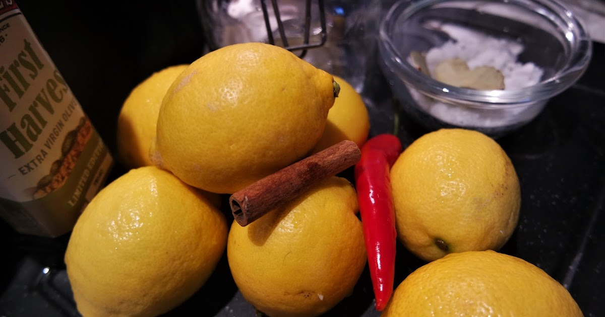 Landebistro: Inlagda salta citroner à la Zeina