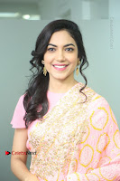 Actress Ritu Varma Pos in Beautiful Pink Anarkali Dress at at Keshava Movie Interview .COM 0114.JPG