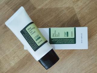 COSRX Sunscreen Review
