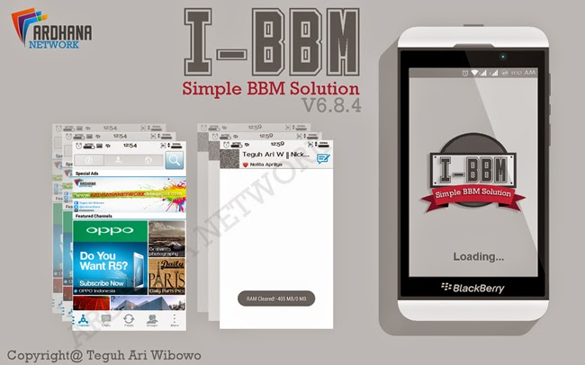 "i-BBM V6.8.4 - V6.8.6 ""Simple BBM Solution"""