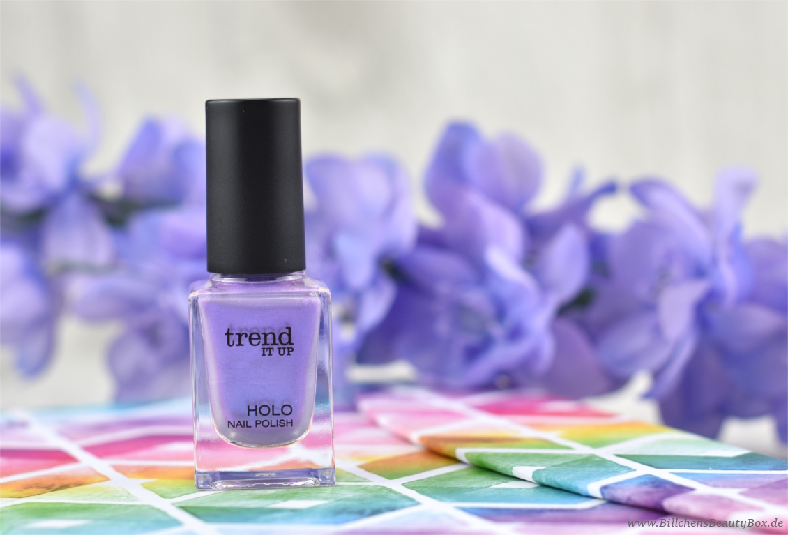 trend IT UP neues Sortiment Frühling und Sommer 2018 - Holo Nail Polish 050