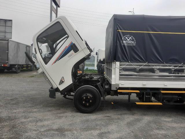 Cabin xe IZ500 thùng bạt