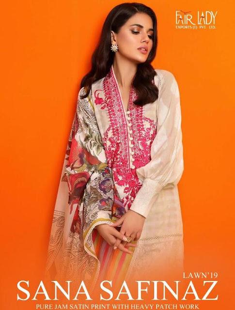 Sana Safinaz Lawn 19 Paskiatani Suits By Fair Lady