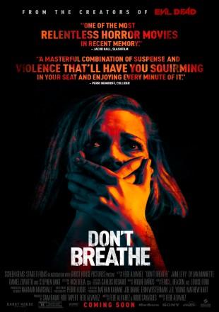 Don't Breathe 2016 BRRip 720p Dual Audio