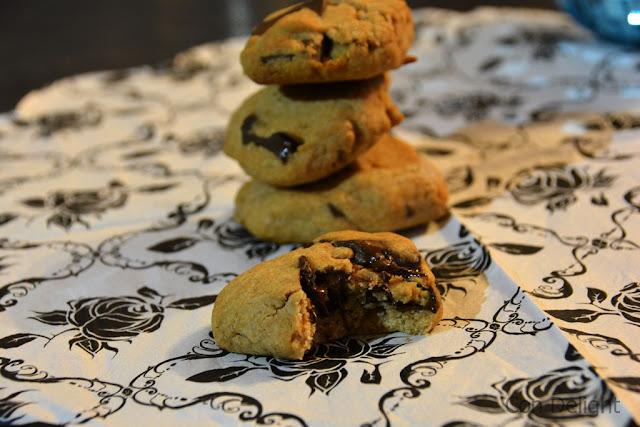 עוגיות שוקולד צ'יפס מקמח מלא whole wheat chocolate chip cookies