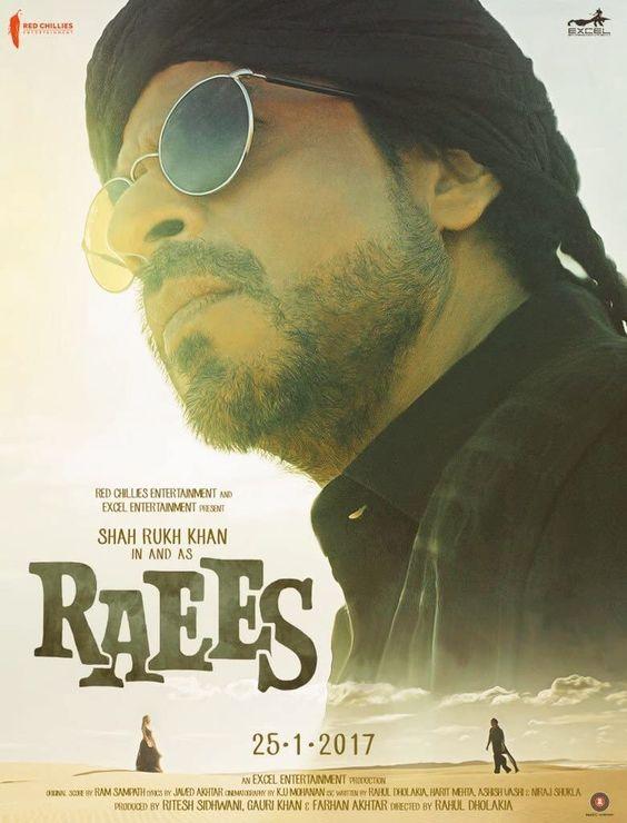 Rekomendasi Film India terbaik : Raees Shakh Rukh Khan