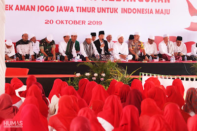 Gus Ipin Ajak Masyarakat Doakan Presiden dan Wakil Presiden Memimpin Bangsa Indonesia Lima Tahun Mendatang