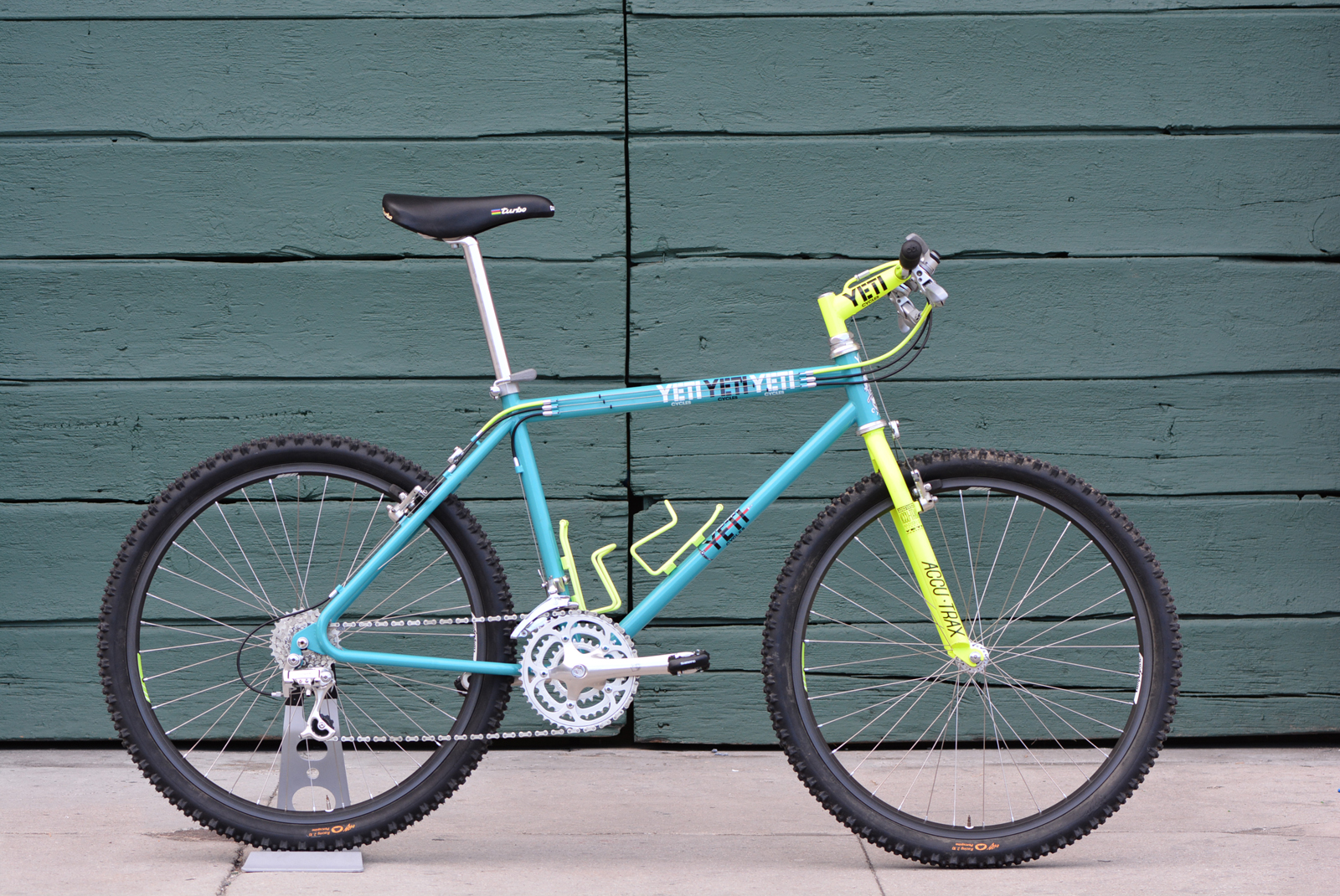 Will There Someday Be Bike In >> Second Spin Cycles 1990 Yeti Fro Ex Joey Erwin Race Bike