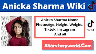 Anicka Sharma bio