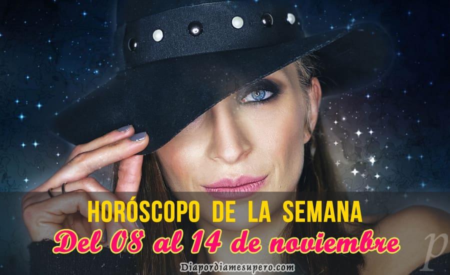 Horóscopo de la semana: Del 8 al 14 de noviembre