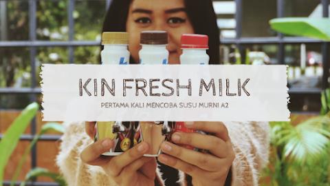 Pertama Kali Cobain Susu Sapi A2 dari KIN Fresh Milk