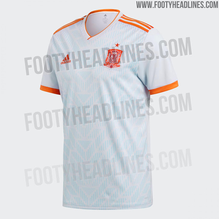 Spain 2018 World Cup Away Kit Released - Footy Headlines 7a9cda39d
