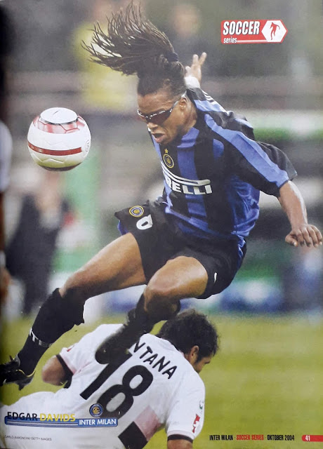 EDGAR DAVIDS OF INTER MILAN