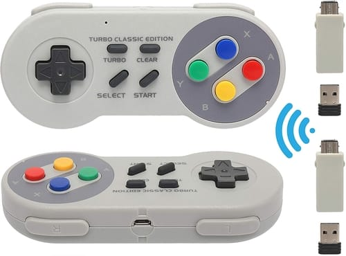 Review DELAM Wireless Controller for SNES/NES Classic