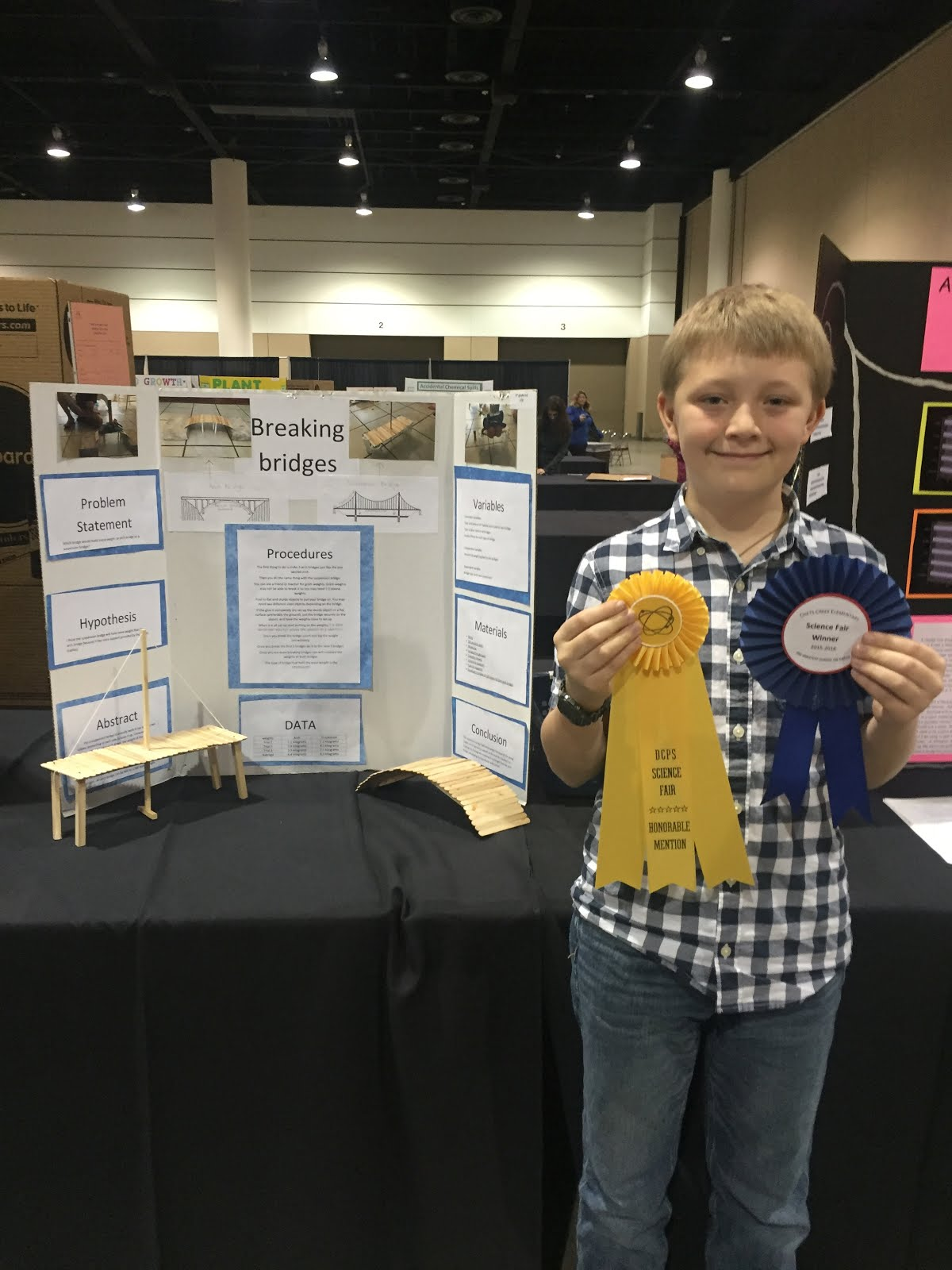 5th Grade District Science Fair Winners