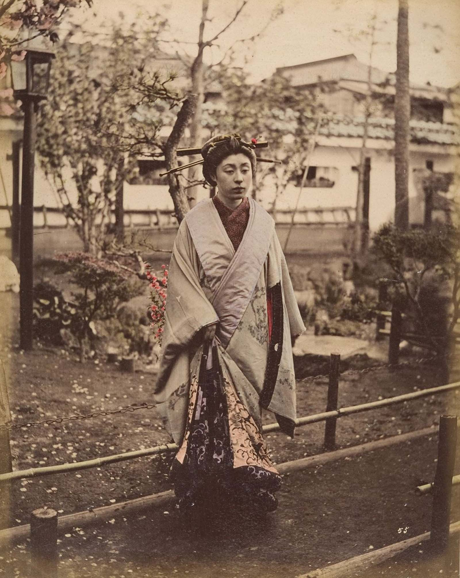 hand colored photographs japan