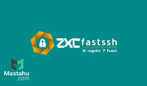 Akun SSH X-SGDO Singapure 7 Hari FastSSH