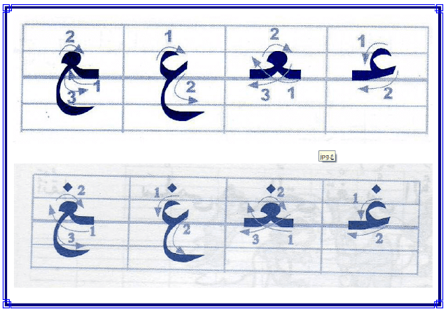lettres arabiques