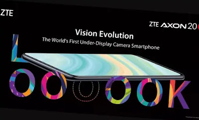 ZTE AXON 20 5G ( world first under display camera smartphone ) in hindi