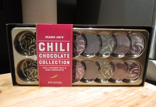 Trader Joe's Chili Chocolate Collection