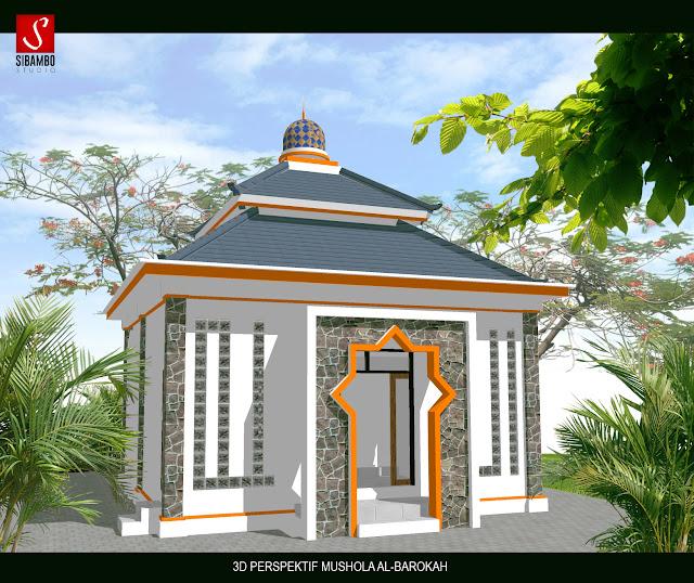 contoh gambar masjid minimalis modern terbaru
