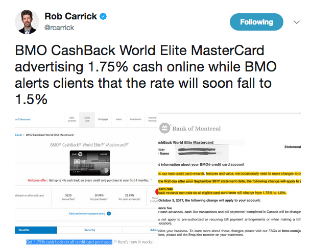 Rewards canada july 14 update bmo cashback world elite earn rate if your were thinking of applying for the starwood preferred guest credit card from american express this weekend wait wait until the 18th reheart Gallery