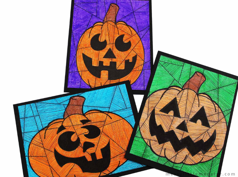 Printable Pumpkin Colouring Pages