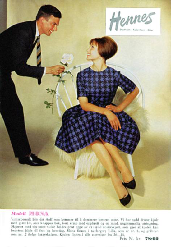 Hennes catalogue 1960s