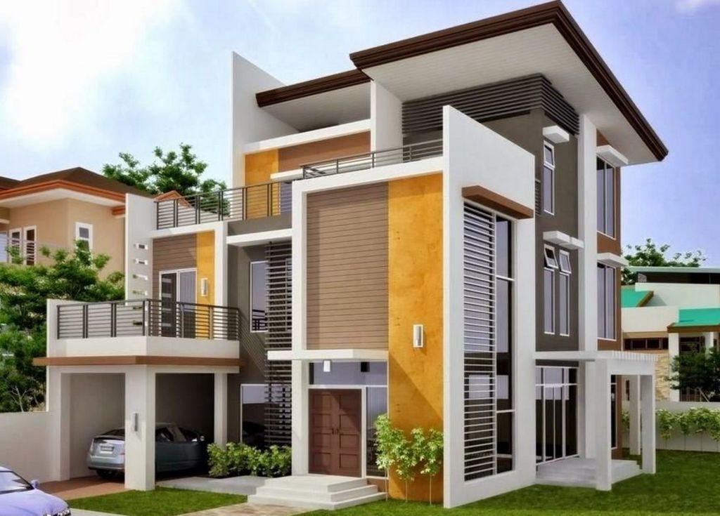 Desain Rumah 2 Lantai Elegan Idaman