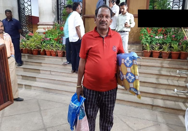 तकिया-चादर लेकर विधानसभा पहुंचे BJP विधायक - newsonfloor.com