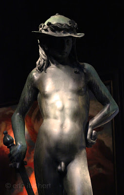 Sculptures, David de Donatello, herwig simons, copie, Bruxelles, Brafa 2016, Critiques,