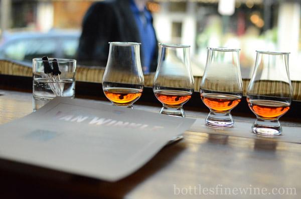 Pappy Van Winkle Bourbon Tasting