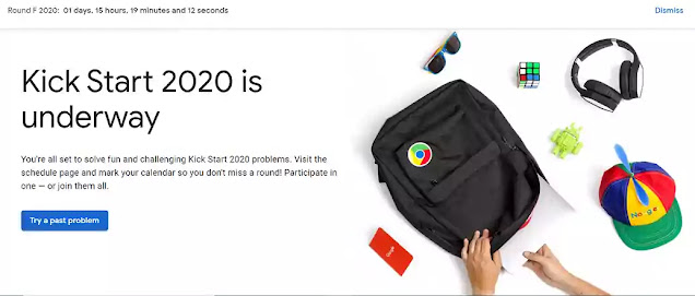 google kick start round F