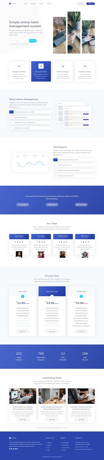 Best Agency and SaaS Template