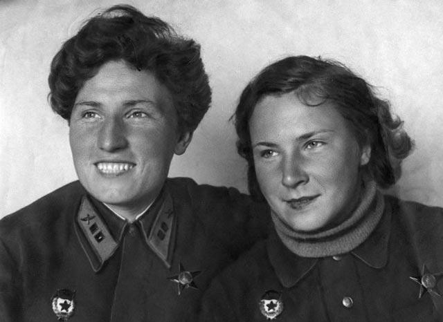 Yekaterina Budanova and Lydia Litvyak, fighter aces of World War II worldwartwo.filminspector.com