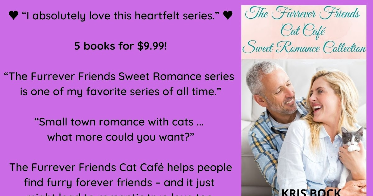 Get 5 cat café #SweetRomance novels packaged together! 5 books for only $9.99 or free in KU. #Romance #ContemporaryRomance #CleanRomance