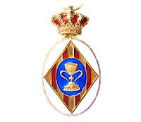 Representación del Real Cuerpo de la Nobleza de Madrid en el capítulo de la Real Hermandad del Santo Cáliz - Cuerpo de la Nobleza Valenciana.