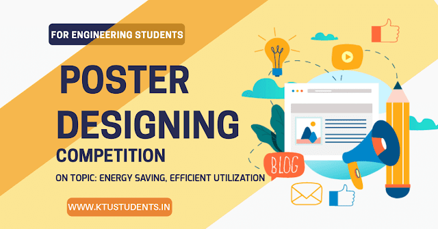 Ktu poster designing competition for ktu Engineering students