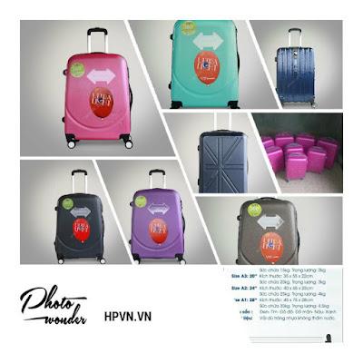 Bán buôn vali kéo, vali xuất khẩu lao động loại lớn, Nhận đặt hàng sản xuất vali