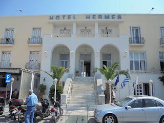το ξενοδοχείο Ερμής στην Ερμούπολη
