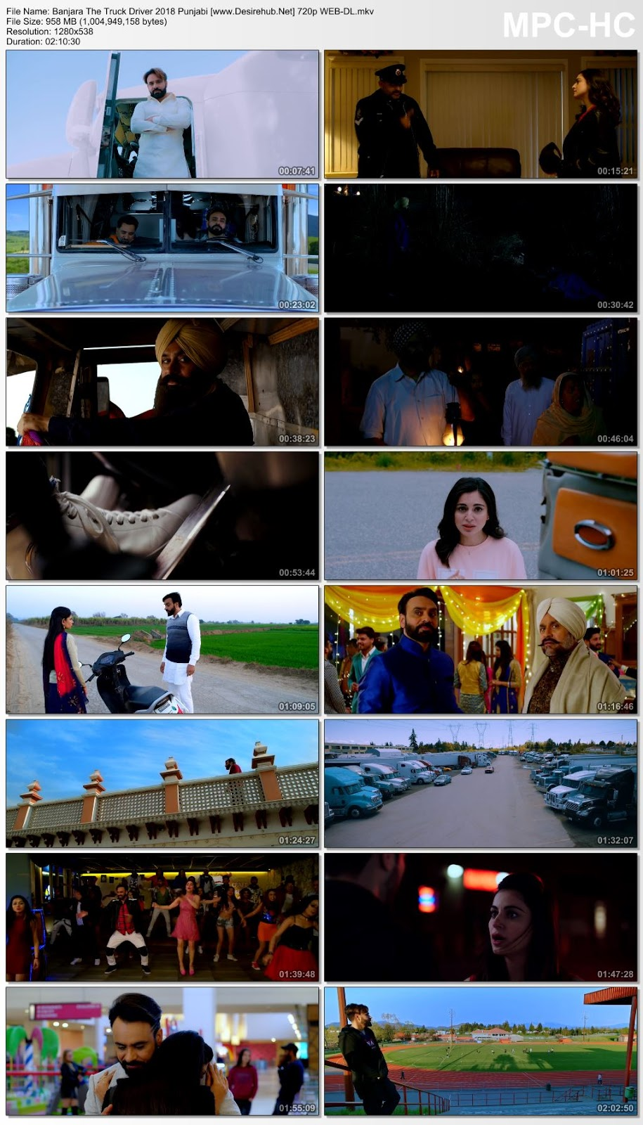Banjara The Truck Driver 2018 Punjabi 720p WEB-DL – 950MB Desirehub
