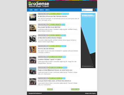 Brosense v2 - High CTR Adsense