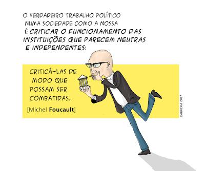 instituições e poder em Foucault por Cabrera