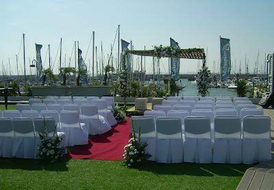 Ceremonia boda barcos Cádiz