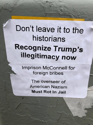 Don't leave it to the historians - Recognize Trump's illegitimacy now - Imprison McConnell for foreign briges - The overseer of American Nazism Must Rot In Jail
